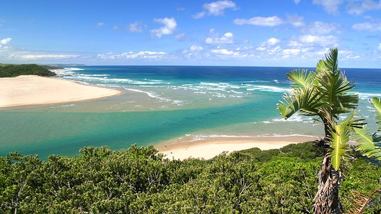 Kei Mouth, South Africa: The Kei river mouth
