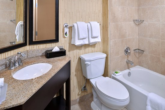 Holiday Inn Express Hunt Valley : Guest Bathroom