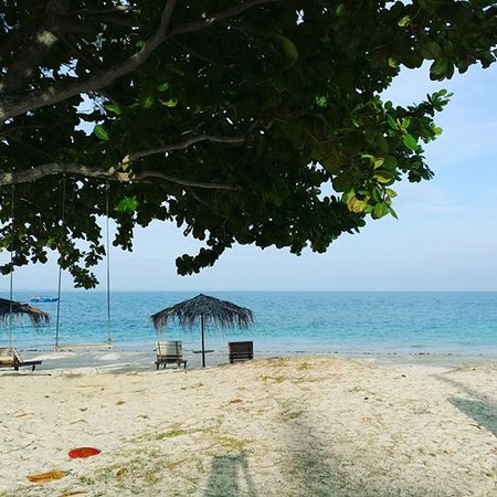 Pulau Besar, Malaysia: Blue and quiet island