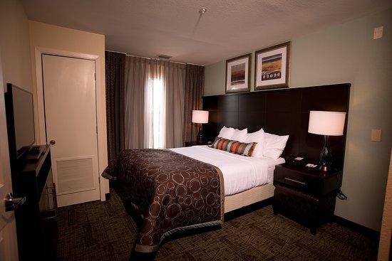 Staybridge Suites Houston NW Willowbrook  2 bedroom 2 bath Suite One King  Bed One Queen. Studio King Suite Kitchen   Picture of Staybridge Suites Houston