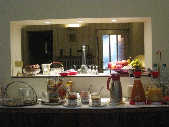 Abendliches leckerli bild von design hotel vosteen for Design hotel vosteen