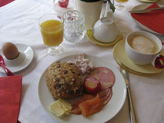 Design Hotel Vosteen: Leckeres Frühstück