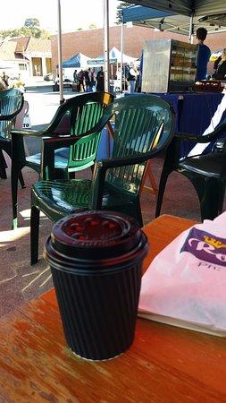 Albany, أستراليا: Latte & Donut