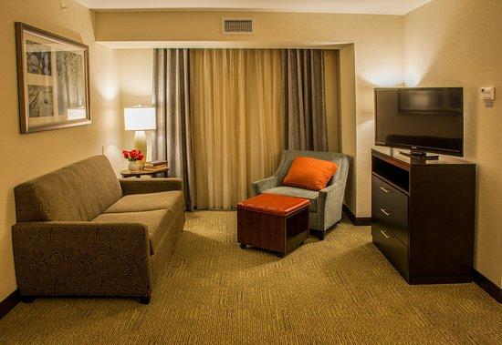 Schererville, IN: Two Bedroom Suite - Living Area