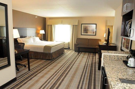 Κέιμπριτζ, Οχάιο: Executive L Shaped Suite