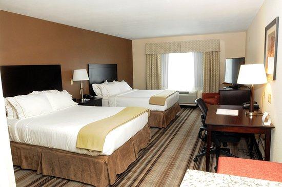 Κέιμπριτζ, Οχάιο: 2 Queen Bed Standard