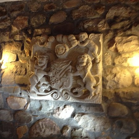 Alceda, Ισπανία: Wandrelief im Speiseraum
