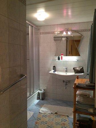 grande salle d\'eau avec grande douche et wc- - Picture of Haus ...