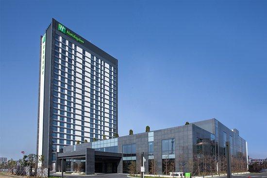Putian, Chine : Hotel Exterior Day