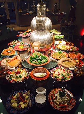 Movenpick Hotel Al Khobar: Oriental Dinner Buffet - The Blue