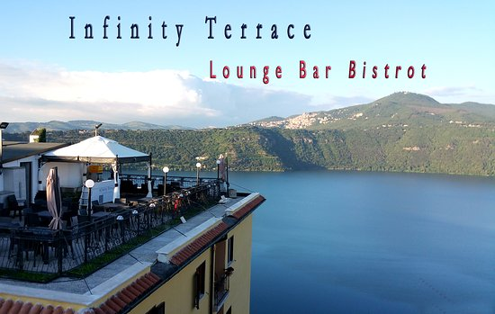 Hotel castel gandolfo updated 2017 reviews price for Terrace of infinity