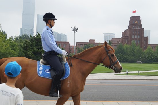 Dalian Mounted Policewoman Base