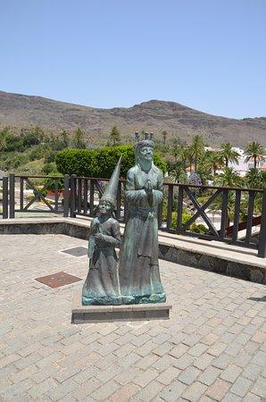 Escultura a la Santa Lucia Sueca