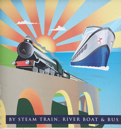 Dartmouth Steam Railway and River Boat Company: Poster