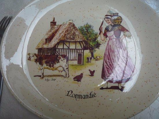 Eure, Francia: Assiette !