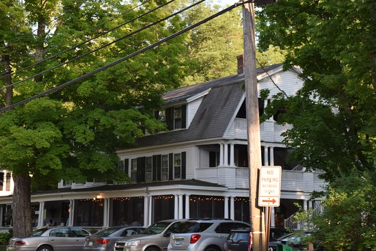 Monadnock Inn: View from the other side of the street