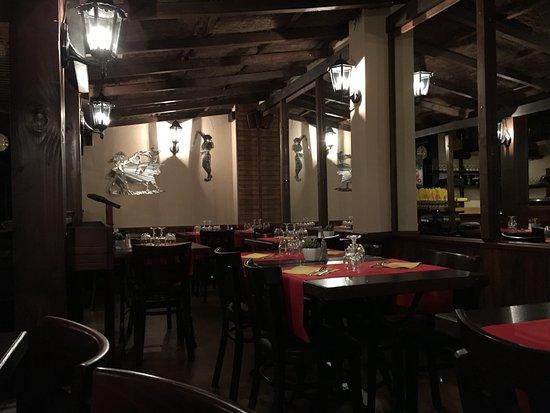 Casa Mauricio: Petite salle intérieure très romantique