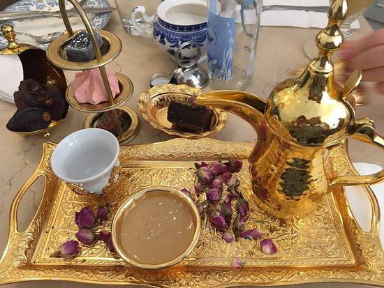 excellent arabic coffee picture of fait maison salon de the london tripadvisor. Black Bedroom Furniture Sets. Home Design Ideas