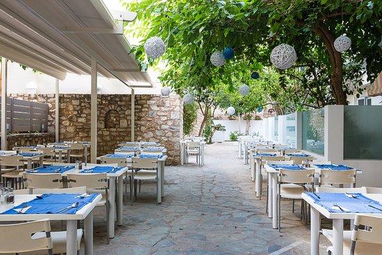 Hotel Dimitrios Beach: TERRACE