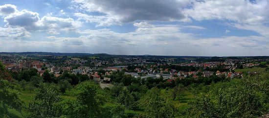 Ellwangen, Deutschland: Ausblick