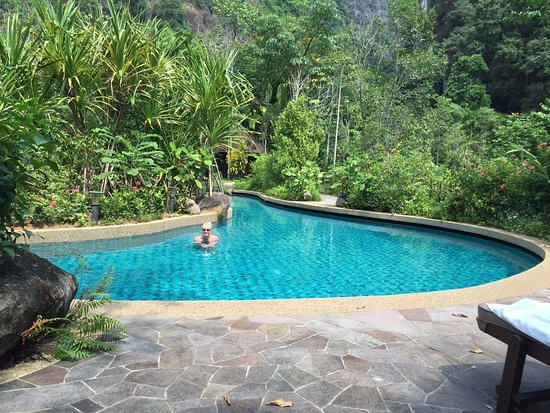 The Banjaran Hotsprings Retreat: Unhurried, lots of pools and Dr Fish - the ones that nibble your feet (in another pool)