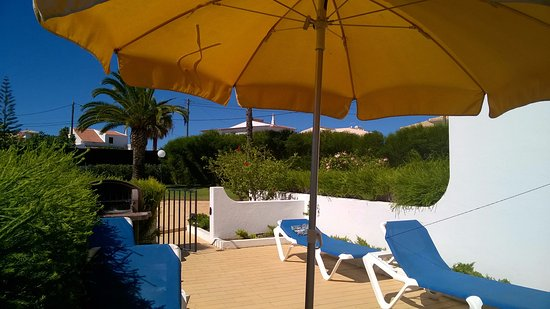Joinal Villas Apartments: Private patio
