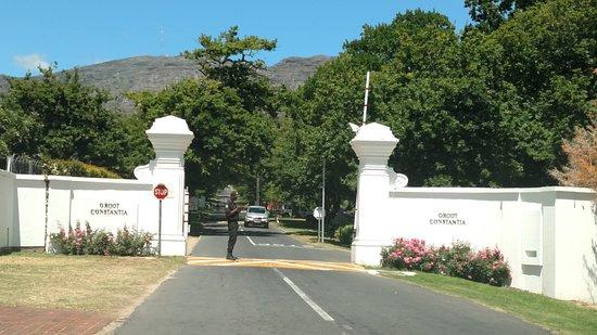 Констанция, Южная Африка: Entrance