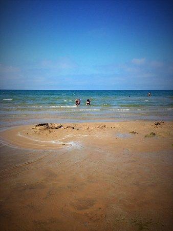 Sandbanks Beach Resort: Plage Sandbanks