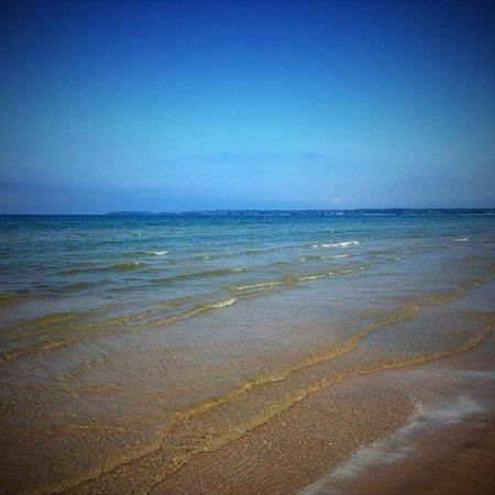 Sandbanks Beach Resort: Plage