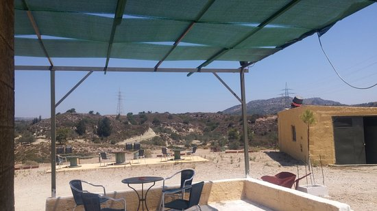 Colossus Shooting Ground: amazing view and breeze