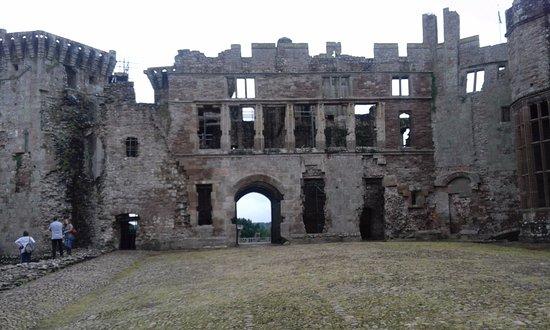 Raglan Castle Dog Friendly