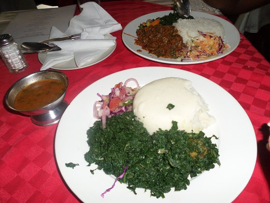 Hotel Ambassadeur - Nairobi: Lunch at the restaurant