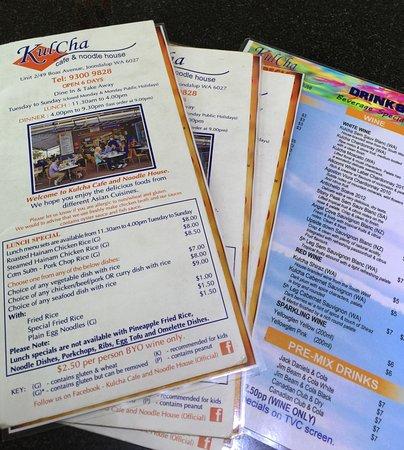 Joondalup, Australia: Kulcha's Cafe & Noodle House