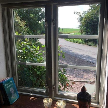 Gislov, Suède : Utsikt från teverummet i superiorrummet Telegrafen