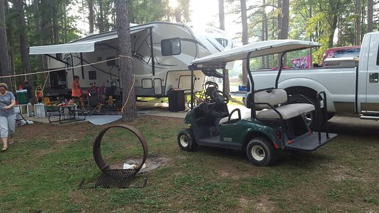 Lake Rudolph Campground & RV Resort: 20160803_183235_large.jpg