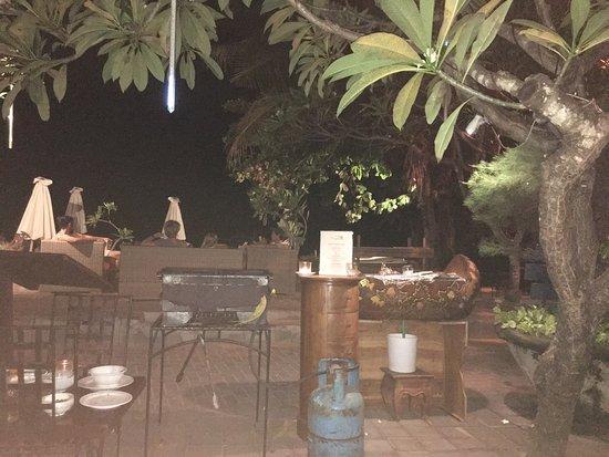 Good restaurant at the Sanur beach