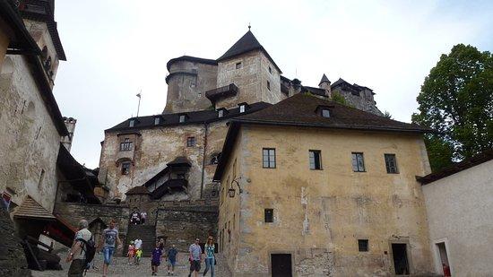 Oravsky Podzamok, Słowacja: At the beggining of tour