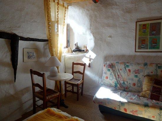 Mecina Fondales, Spanien: Une des deux chambres d'hôtes
