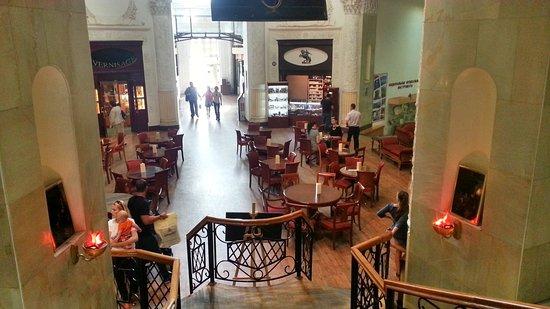 Ararat Restaurant VDNH: Дегустационный зал на первом этаже
