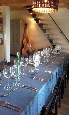 Hannut, Bélgica: La Table Du Marbuay