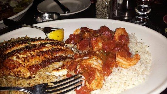 Springdale, OH: My favorite! Cajun Combo. Delicious!