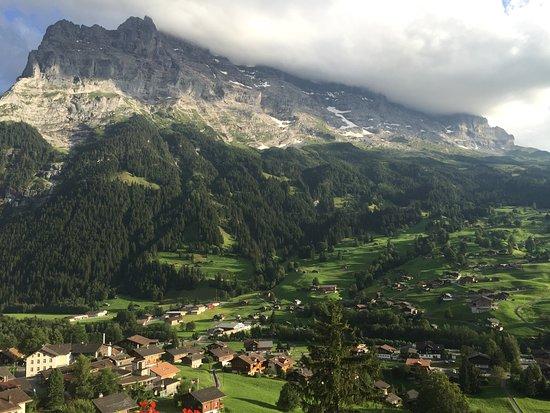 Belvedere Swiss Quality Hotel: Vue de la chambre