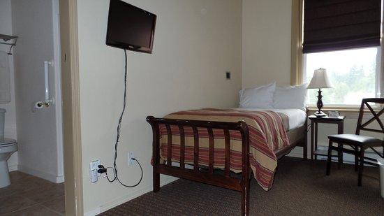 Cathlamet, Waszyngton: Twin bed room