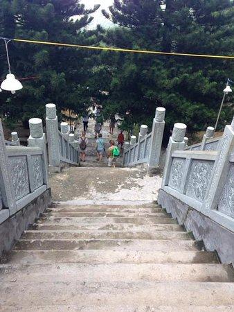 Phan Thiet, Vietnam: I gradini di Ta Cu Mountain