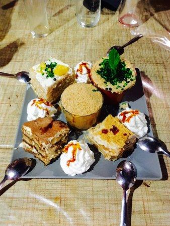 La Esperanza, Spanien: Incredible desserts, recommend all of them!