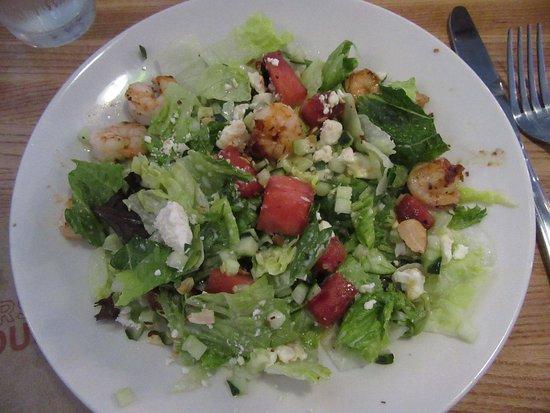 Roseburg, OR: Grilled Watermelon & Shrimp Salad