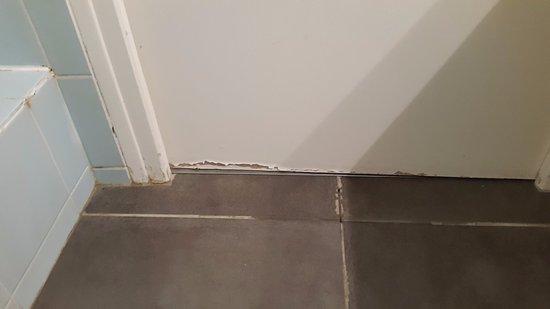 Carrelage et bas de porte salle de douche picture of for Joint double levre porte douche