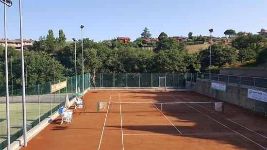 Castelnuovo di Porto, Italia: il nuovo campo da tennis