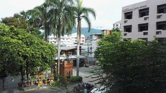 Chiang Mai Gate Hotel: View from my room