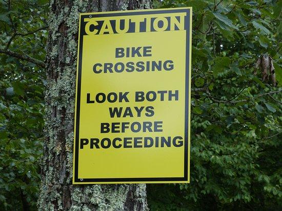Massanutten Mountain: Watch out for mountain bikers